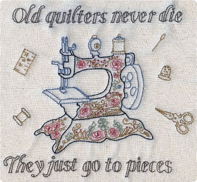 Old quilters